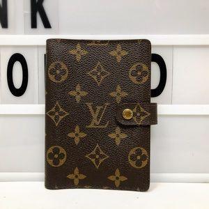SoldLouis Vuitton Monogram Agenda Cover PM planner